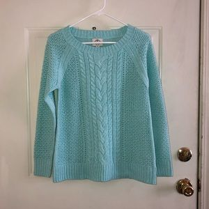 NWT cable knit sweater